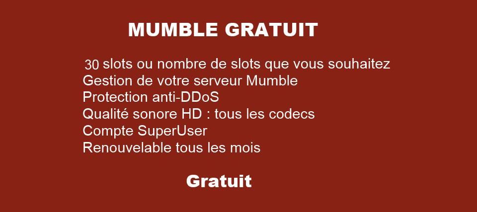 Mumble par Puma-Network.net