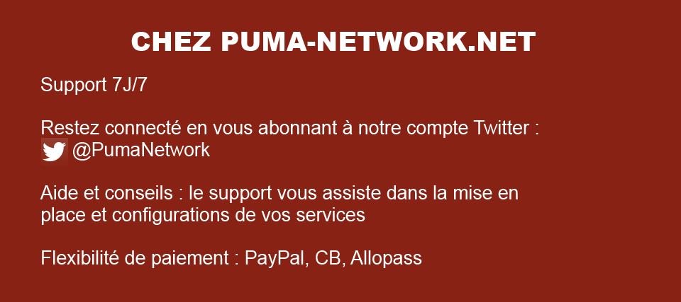 Les plus par Puma-Network.net